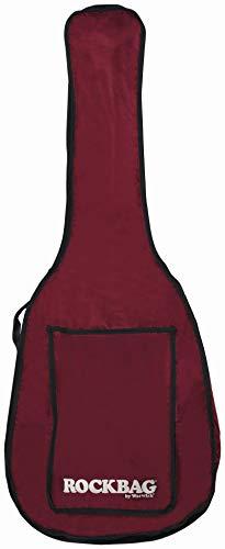 Rockbag tas voor 3/4 klassieke gitaar - Eco Line - wijnrood/scheurvast en waterdicht