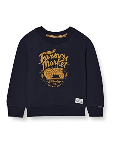 Noppies B Sweater LS Kei Road Sudadera, Dark Sapphire-P208, 18 Meses para Bebés