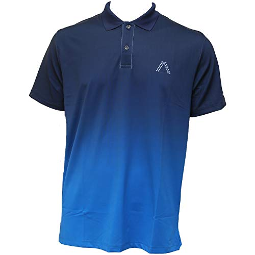 ALBERTO Milo Dry Comfort Polo Herren blau XS