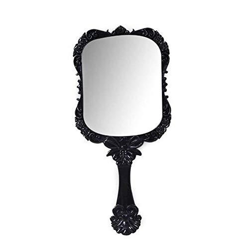 ZYZYB Espejo nostlgico del Modelo, Accesorios de Mano Cuadrados del Maquillaje de la Herramienta del Espejo del Maquillaje