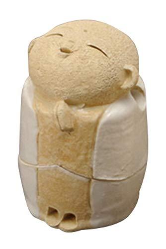 白 お地蔵様 香炉 2.2寸 (わらべ) [ H6.5cm ] 【 香炉 】 【 HANDMADE 置物 インテリア ギフト プレゼント 】