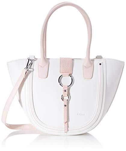 Gabor Shopper Damen, Weiß, Kreta, 40x12x26 cm, Handtasche, Umhängetasche