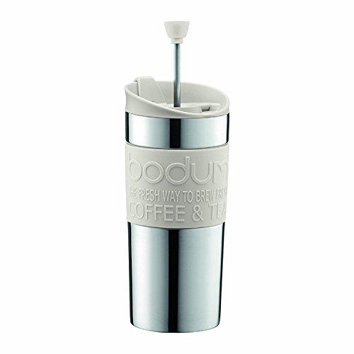 Bodum K11067-913 Kaffeebereiter 0.35l weiß TRAVEL Press