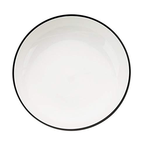 Hemoton Soep Ramen Kom Keramische Slakom 8 Inch Noodle Kom Rijst Snack Kom Voor Restaurant Thuis Banket Feest