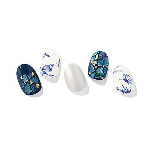 Ohora (N Porcelain Nails) 30pcs 16 Basic 14 Point Nail Art Pattern Sticker Set