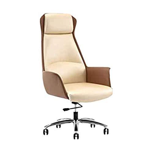 DJDLLZY Silla de escritorio para el hogar, silla de oficina ejecutiva con silla de juegos, silla de PC con respaldo alto, silla giratoria extra acolchada, muebles de hogar/oficina