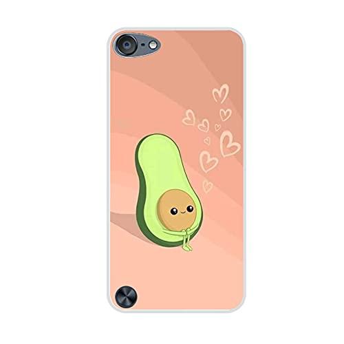 Compatible con Apple iPod Touch 5 para Niños Imprimir con Avocado 2 Cajas del Teléfono De La Pc Abstracto