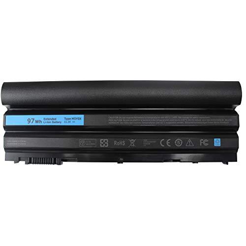 Shareway E6420 Laptop Battery for Dell Latitude E5420 E5520 E6420 E6520 E6440 E6540 Precision M2800 Compatibel P/N: M5Y0X N3X1D 312-1163 HTX4D 009K6P [11.1V 97Wh]