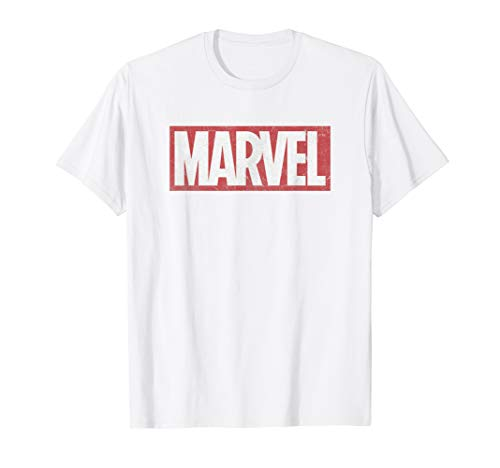 Marvel Classic Distressed Logo Graphic T-Shirt C2