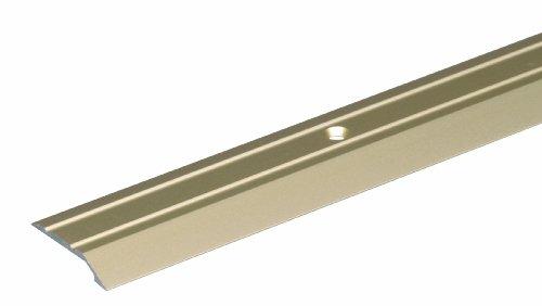 GAH-Alberts 490577 Ausgleichsprofil | gebohrt | Aluminium, sandfarbig eloxiert | 900 x 39 mm