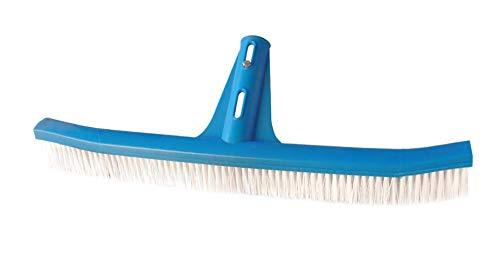 Cepillo Piscina con fijación palomilla, indicado para la Limpieza de Paredes, Azulejos...