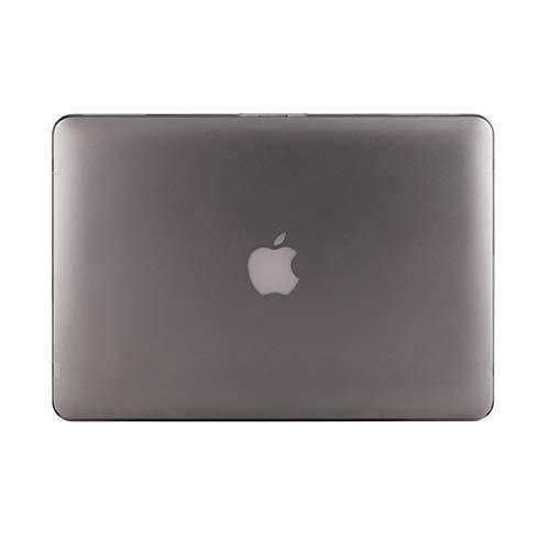 """KMP Hülle für MacBook Pro Retina 15"""" (02/2013, 10/2013, 08/2014, 05/2015) – anthrazit – Superdünne gummierte Hartschale Premium Snap Hülle – Note 1,0 MacLife Schutzhülle"""