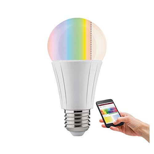 Paulmann 500.54 Smarthome Zigbee Soret LED AGL 7, 5W E27 230V RGBW Dimmbar Leuchtmittel Glühlampe 50054 - Amazon Echo Plus kompatibel