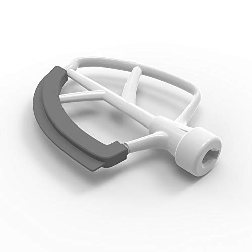 5 Quart Bowl-lift Plastic Flex Edge Beater for KitchenAid 5QT...