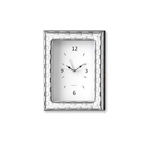 Klok voor tafels van hout, afmeting 12 x 16 cm, cadeau-idee voor bruiloften E.44PS.4