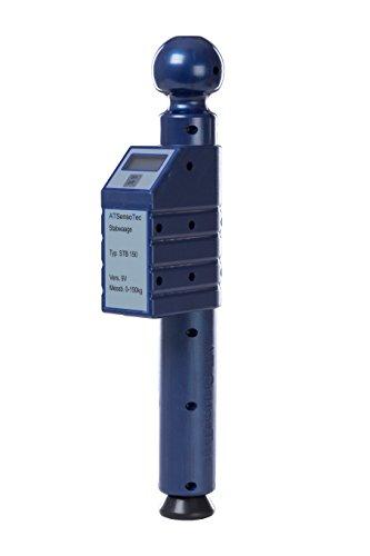 ATSensoTec Digitale Stützlastwaage bis 150kg (blau) - Caravaning Testsieger