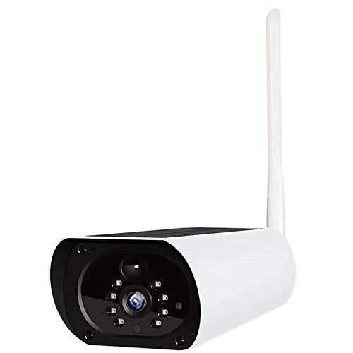 HLSH Cámara IP De WiFi Solar, Impermeable Al Aire Libre 1080p HD Cámara De Seguridad CCTV Inalámbrica HD Anti-ladrón PIR VISIÓN DE Video DE Video(Size:Cámara)