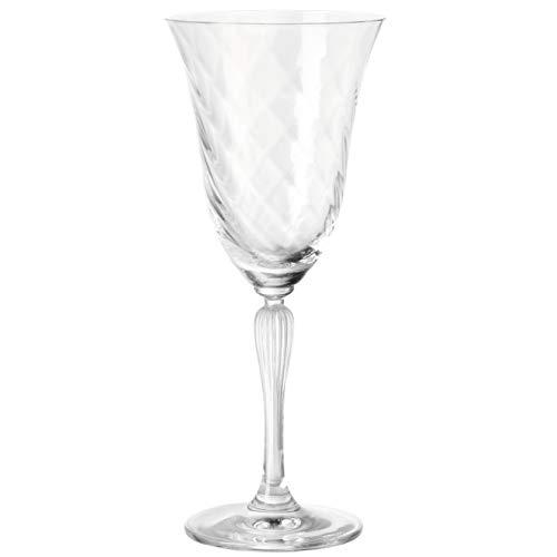 Leonardo Volterra Rotwein-Glas, Rotwein-Kelch mit Stiel, spülmaschinengeeignete Wein-Gläser, 6er Set, 280 ml, 020765