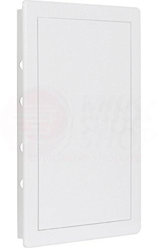 MKK Revisionsklappe Wartungstür 300 x 400 mm ASA Kunststoff Inspektionstür Revisionstür Fliesentür in vielen Größen Trockenbau Tür Revision Wartung Inspektionsklappe Wartungsklappe