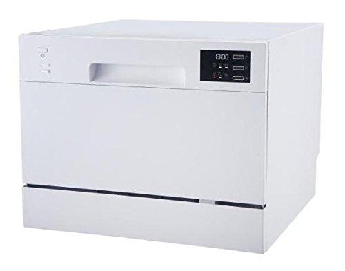 Teka | Lavavajillas Compacto | 45 cm de Ancho | 6 Programas de lavado | 6 Temperaturas | Acabado en Blanco