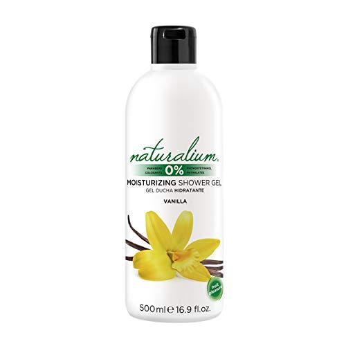 Naturalium Gel Ducha Vainilla - Gel de Baño Hidratante, Sin Parabenos, Sin Colorantes, 500 ml
