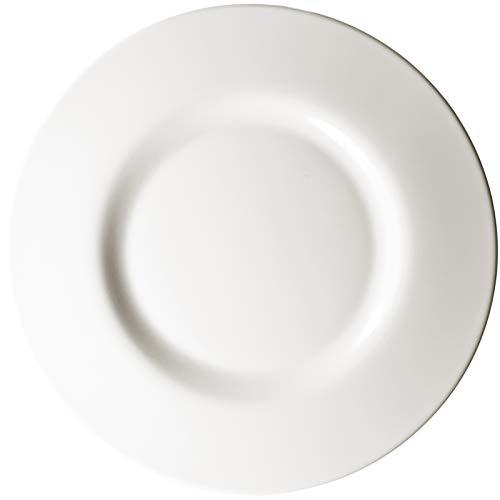 Chef & Sommelier Hochwertige Marken Teller Flach 26cm Essteller Speiseteller ARC. - Geschirr Set - cremeweiß - Frühstücksteller (6 Stück) - aus hochwertigem Zenix