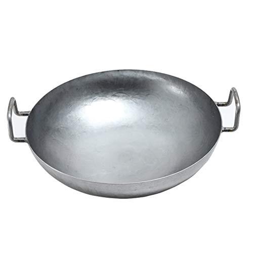 Pfanne Aus China-Gastronomie Runder Boden Nur Für Gasherde Durchmesser Mit Rundem Boden Für Gas, Gastronomie, Wokpfanne,36cm