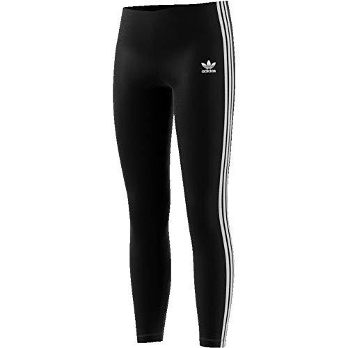 adidas Mädchen Trainingshose 3-Streifen, Black/White, 140, ED7820