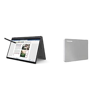Save 10% on Toshiba External Hard Drive - Lenovo Flex 5 14  2-in-1 Laptop Touch Display AMD Ryzen 5 and Toshiba 1TB Portable External Hard Drive