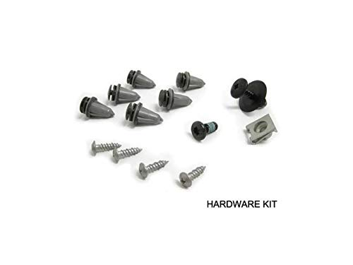 OEM Hood Scoop Hardware Install Kit Compatible with Mini Cooper S R55 R56 R57 R58 R59