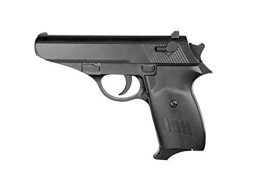plan beta-Pistola Softair a Molla 1232-0,3 Joule, Colore: Nero