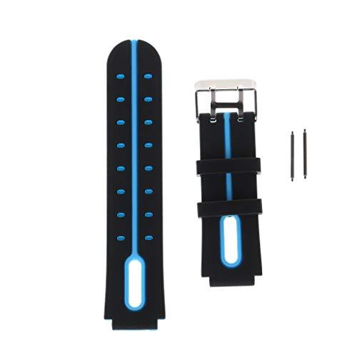 Tubicu Bracelet de Rechange en Silicone 16 mm pour Montre connectée Enfant Q750 Q100 Q60 Q80 Q90 Q528 T7 S4 Y21 Y19