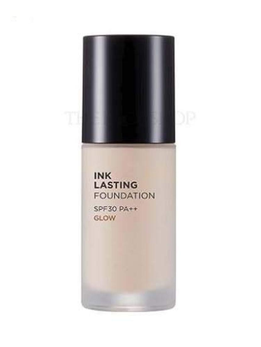 発明するプログレッシブ望む[ザ?フェイスショップ] THE FACE SHOP [インクラスティングファンデーション - グロー 30ml] (Ink Lasting Foundation - Glow SPF30 PA++ 30ml) [海外直送品] (N203 - Natural Beige)