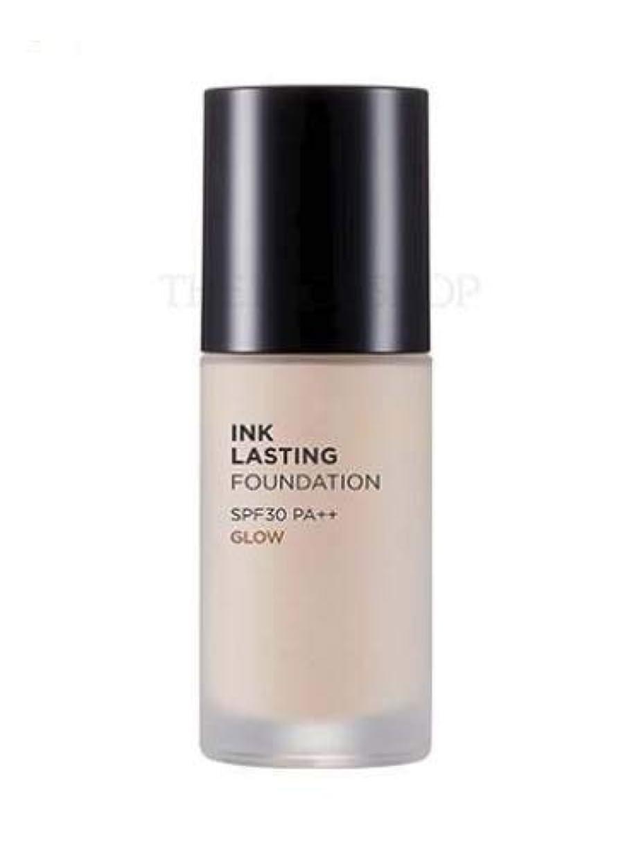 毎回ジャム殉教者[ザ?フェイスショップ] THE FACE SHOP [インクラスティングファンデーション - グロー 30ml] (Ink Lasting Foundation - Glow SPF30 PA++ 30ml) [海外直送品] (N203 - Natural Beige)
