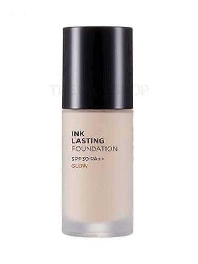 不毛預言者アンソロジー[ザ?フェイスショップ] THE FACE SHOP [インクラスティングファンデーション - グロー 30ml] (Ink Lasting Foundation - Glow SPF30 PA++ 30ml) [海外直送品] (N203 - Natural Beige)