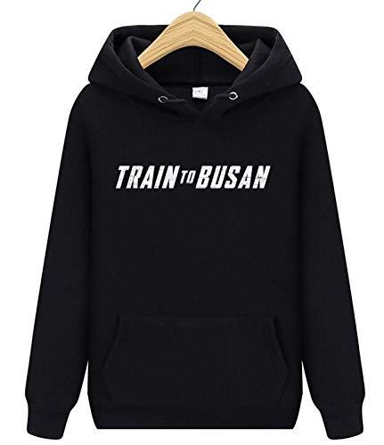 Train to Busan - Sudadera con capucha unisex para hombre y mujer