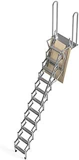comprar comparacion Mister Step UP Escalera escamoteable tipo tijera para altillos y loft: puerta de madera multicapa 70x100 cm. (H 250 cm.)