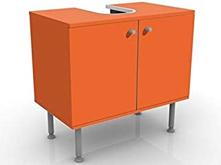 Amazon.fr : meuble salle de bain - Orange