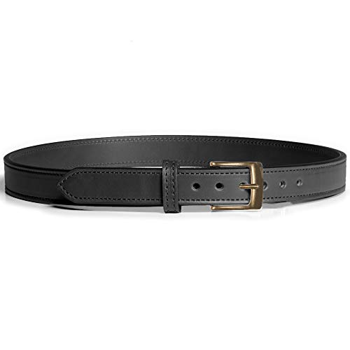 Gun Belt Dress - 32 Inch - Black - Antiqued Brass