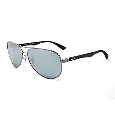 b32d53e2b5 Amazon.com  Ray-Ban Men s Aviator TM Carbon Fibre Oval