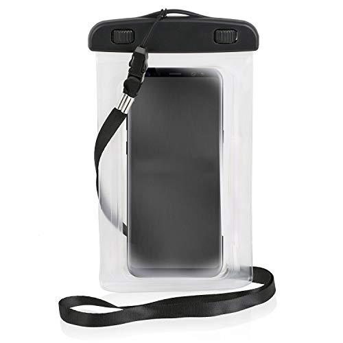 Wicked Chili Beachbag/Outdoor Bag kompatibel mit Samsung, Nokia, LG, HTC, Motorola, Huawei, Schutzhülle Strand, Wandern, Outdoor (Schutz gegen Staub, Sand, Nässe/wasserdicht bis 3m Tiefe / IPx8)
