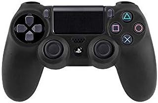 Étui noir en silicone pour manette de jeux Sony PS4