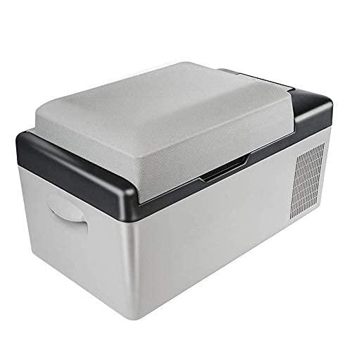 RTOFO Mini Nevera refrigerador refrigerador 20l multifunción Frigorífico Protable refrigerador Congelador Cooler Gris Grey Energía Frigorífico