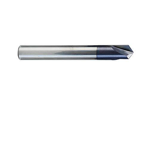Drill Bit 2-12mm 120 Degree Chamfer Mill 3 Flutes CNC Milling Cutter V Shape End Mill CNC Router Bit-4mm