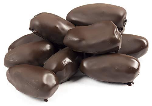 Edelmond Bio Dattel in 100% Schokolade ohne Zucker. Süße Dattel & herbe Kakaobohne. Vegan ohne Süßstoffe. (200g)