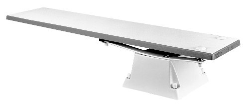 S.R. Smith 66-209-61823 656/658 Supreme Jump Stand with 8-Foot Frontier III Diving Board, Pebble