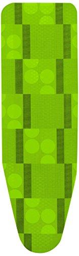 Rolser Logos - Copriasse di Ricambio, Schiuma, 140 x 48 cm, Colore Lime.