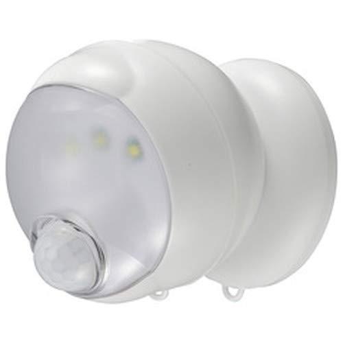オーム電機 センサーライト LS-BH11SH4-W