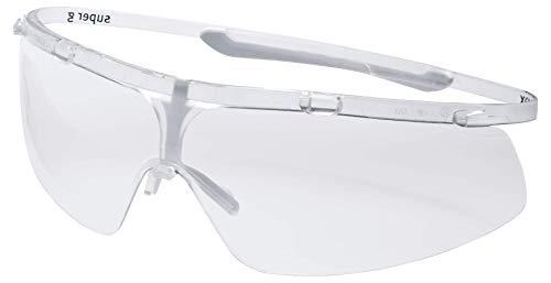 Uvex Super G Schutzbrille - Supravision Excellence - Transparent/Weiß