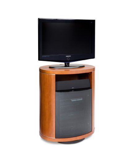 Hot Sale BDI Revo 9980, Single Wide Rotating Cabinet ( Natural Stained Cherry)